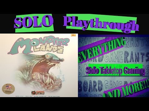 Solo Playthrough - Monster Lands