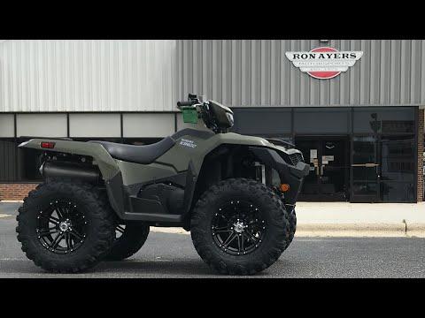 2021 Suzuki KingQuad 500AXi in Greenville, North Carolina - Video 1