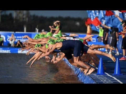 Entrenamiento de fuerza con pesas para la natación