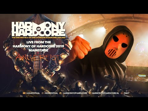 Harmony of Hardcore 2019 - Angerfist LIVE from the mainstage