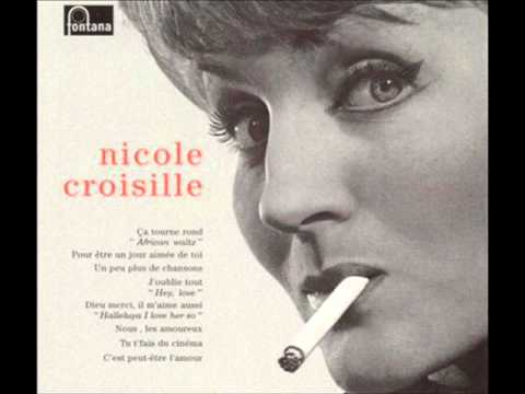 NICOLE CROISILLE 25CM Rarissime COLLECTOR Original 60's BIEM MINT EUROVISION 61