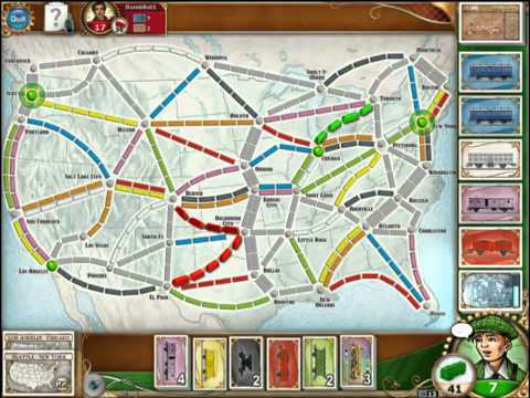 Vídeo do Ticket to Ride