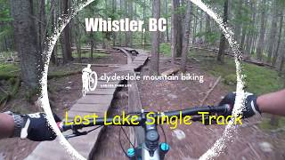 Lost Lake Trail Ride - the blue inner trails of the trail system