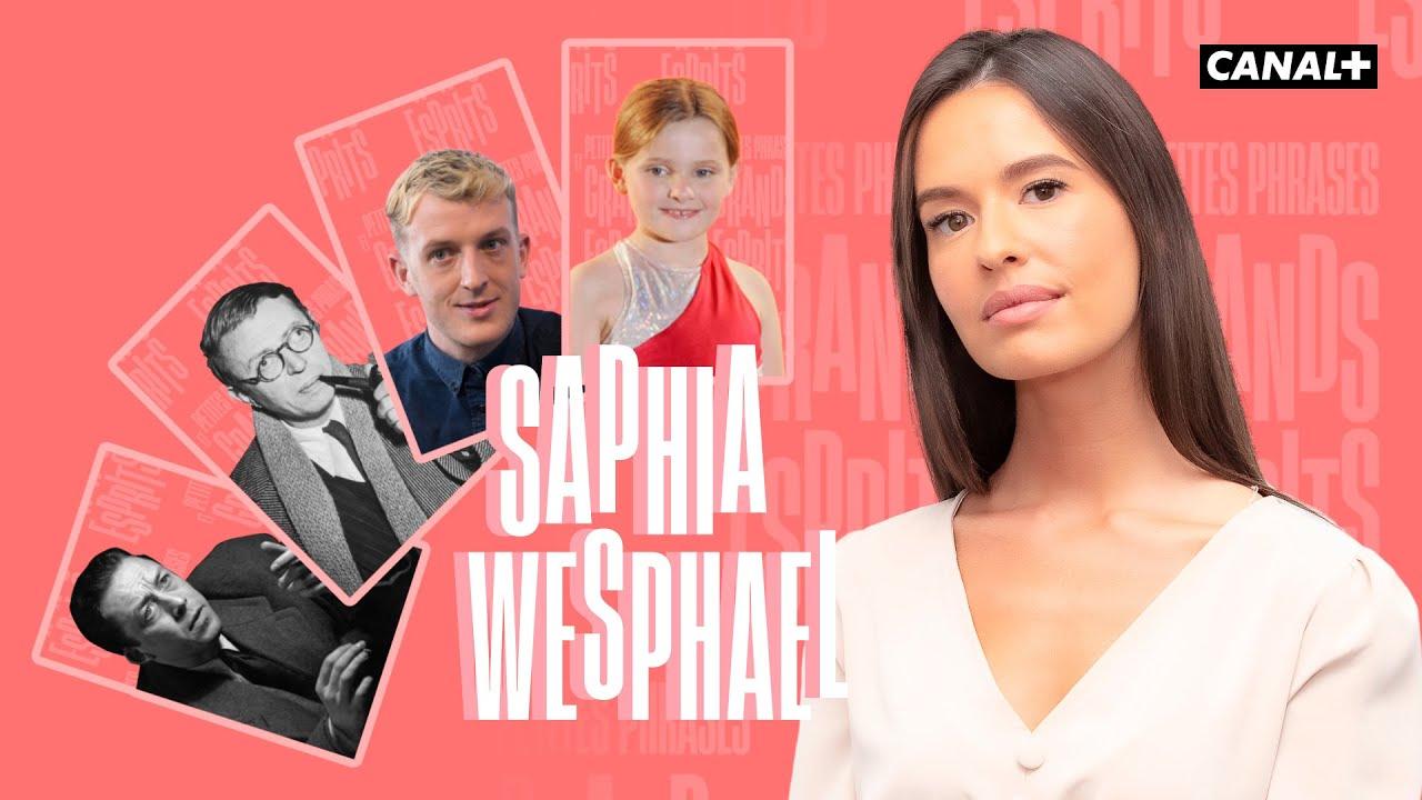 La première de Saphia Wesphael - Clique - CANAL +