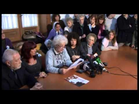 <p>Conferencia de prensa que se brindó en la sede de Abuelas el 8 de agosto de 2011, por la restitución Laura Reinhold Siver, hija de Susana Leonor Siver y Marcelo Carlos Reinhold, nacida en febrero de 1978, por cesárea, en el Hospital Naval.</p>