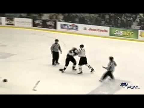 Aaron Hoyles vs. Mickael Beauregard