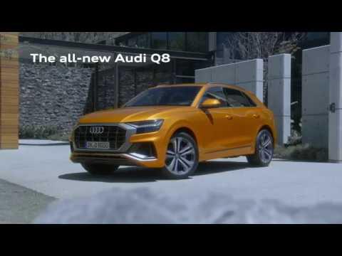 Audi  Q8 Кроссовер класса J - рекламное видео 2