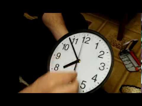Ремонт кварцевых настенных часов
