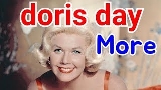 doris day  -  more (lyrics)