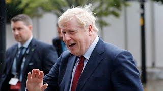 video: Boris Johnson denies squeezing thigh of female journalist Charlotte Edwardes