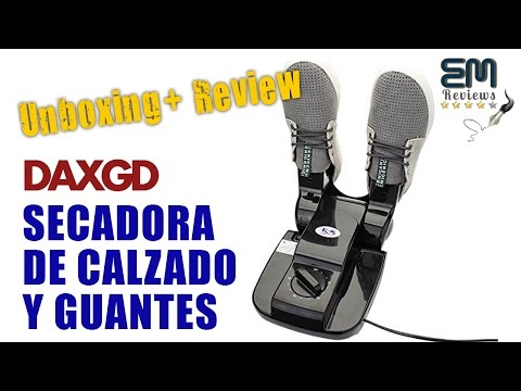 DAXGD Secadora de Calzado y Guantes | UnBoxing - Review