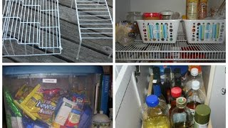 أفضل ترتيب لخزانة المطبخ قبل رمضان2015~organizing the kitchen pantry