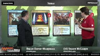 2015 Magic World Championship Deck Tech: Jeskai with Shaun McLaren