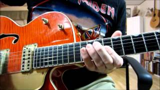 """Roll Over Beethoven"" intro & solo lesson(Beatles guitar version)"