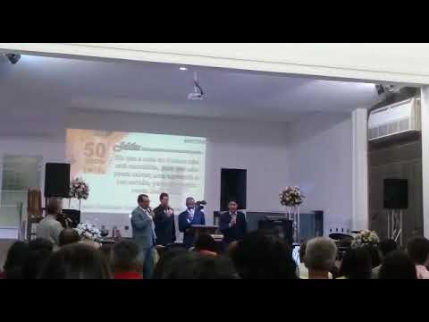 Quarteto Embaixadores do Rei - Jubileu de ouro Igreja Congregacional em Rio Bonito