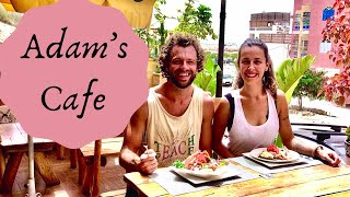 Adam's Cafe, Morocco Seafood Salad, Shrimp Avocado Cocktail, Garlic Butter, Family Friendly Morocco