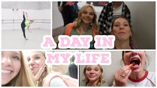 A Day In The Life Of A High School Student/ Elite Dancer!