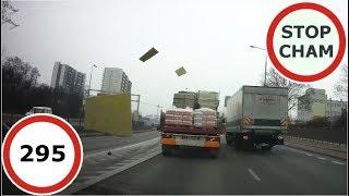 Stop Cham #295 - Niebezpieczne i chamskie sytuacje na drogach