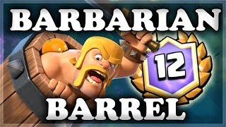 Barbarian Barrel Draft Challenge | Clash Royale 🍊 - dooclip.me