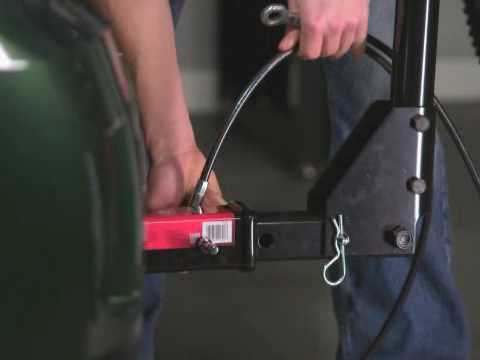 Screen capture of About Master Lock Receiver Lock & Cable