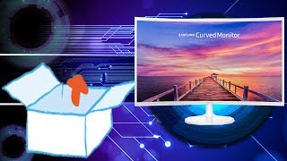 Unboxing | Samsung C32F391 Curved Monitor, 80 cm (32 Zoll), Weiß