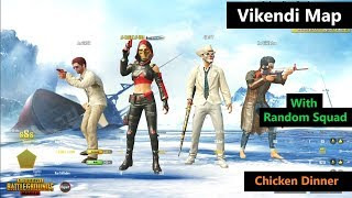 "[Hindi] PUBG Mobile | ""22 Kills"" In Squad With Random Players In Vikendi Map"