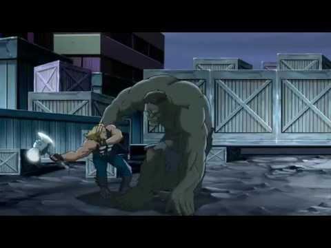 Captain America, Iron Man, Thor, Nick Fury, Giantman & Wasp VS The Hulk - The Ultimate Fight