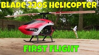 Blade Night 230 s RC Helicopter First Flight