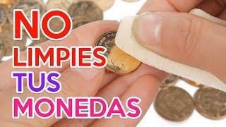 Por Qué No Debes Limpiar Tus Monedas 😨 Tutorial 📓