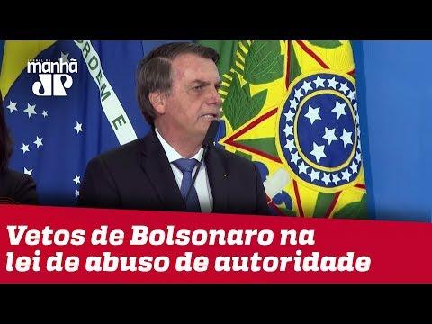 Câmara tem maioria para derrubar vetos de Bolsonaro na lei de abuso de autoridade