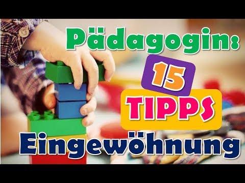 15 Tipps Eingewöhnung | Kinderkrippe | Kindergarten | KITA Eingewöhung | Pädagogin Eingewöhnung