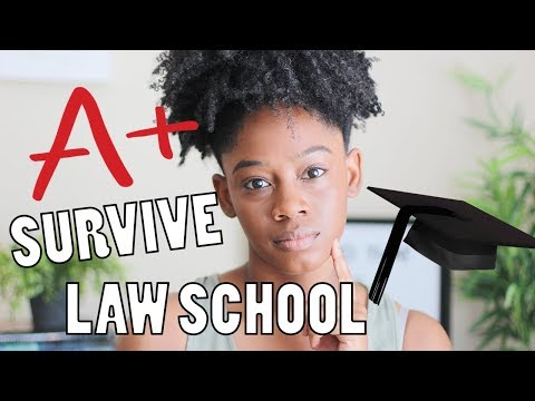 How to Survive Law School and Do Well | 10 Tips for Law School