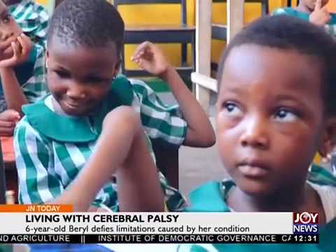 Living with Cerebral Palsy - Joy News Today (11-5-18)