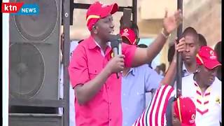 Jubilee woos Nairobi : William Ruto says NASA plans to cause chaos