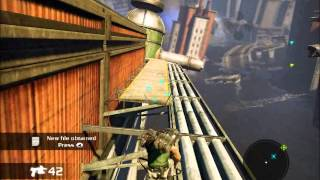preview picture of video 'Bionic Commando Gameplay Test'