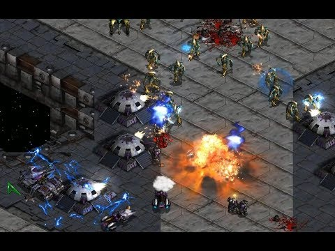 Fastest Map - Jose (P) v Thanks (T) on Space - StarCraft - Brood War REMASTERED