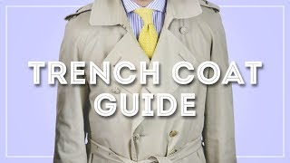 Trench Coat Guide - How To Wear & Buy A Burberry Or Aquascutum Trenchcoat