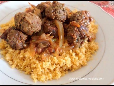 Couscous Meatballs – Kadirecipes