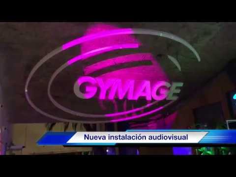 Instalación permanente de sonido Iluminación y video Gymage