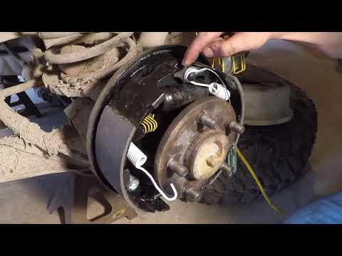 Front and Rear brakes on 1997 Jeep Wrangler TJ