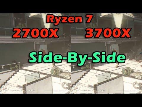 Download Amd Ryzen 7 2700 Vs 2700x Cpu Benchmark Comparison Video