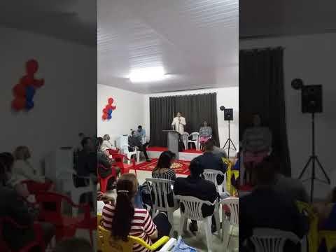 Ministrando a palavra de Deus em Abadia de Goiás