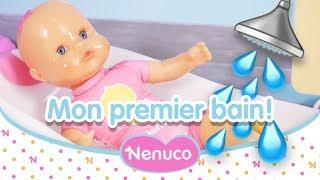 Nenuco Mon Premier Bain adore s'amuser dans l'eau !