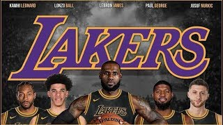Lebron James To Lakers Now CONFIRMED With Paul George & Kawhi To Get Revenge On Warriors