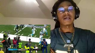 SUPERCAM VS THE GOAT! Panthers Vs  Saints  NFL Wild Card Game Highlights REACTION!!