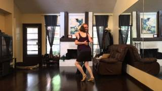 "Struttin' Blues Dance Demo by Grace and Nick to ""Spoonful"""