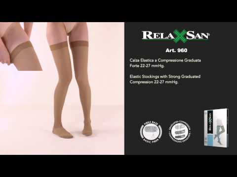 Calze Relaxsan a Compressione 22-27 mmHg per Reggicalze 280 den | RLX000960