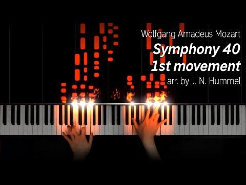 Mozart\/Hummel - Symphony 40 1st Movement (40k subs special)