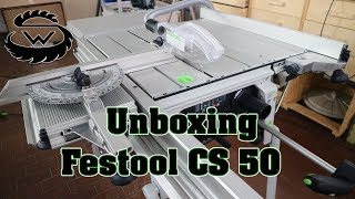 Festool CS 50 EB Set ## UNBOXING ##