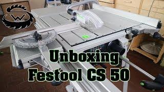 Festool CS 50 EB Set ## UNBOXING ##